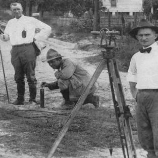 "Leon Brooks ""Skeet"" Thrasher, PE, (shown right) worked as a city engineer in Lakeland in 1918, and was the last living FES Charter Member."
