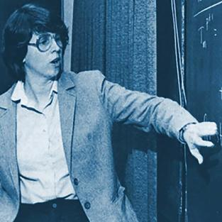 Patricia J. Bishop, PhD, PE, FES and NSPE Young Engineer of the I Year, 1984.