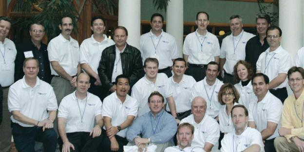 Inaugural class of the Florida Engineering Leadership Institute shown above in 2004.